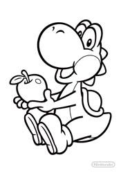Malvorlagen Yoshi