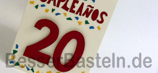 Bastelanleitung Fur 3d Karten Lustige Geburtstagskarte Basteln