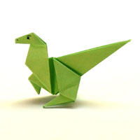 Bekannt Anleitungen zum Falten von Origami Tieren TF02