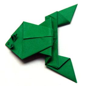 anleitungen zum falten von origami tieren. Black Bedroom Furniture Sets. Home Design Ideas