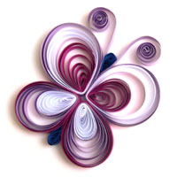 Quilling Schmetterling 2