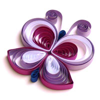Quilling Schmetterling 3