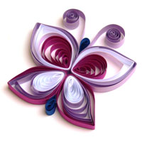 Quilling Schmetterling 4