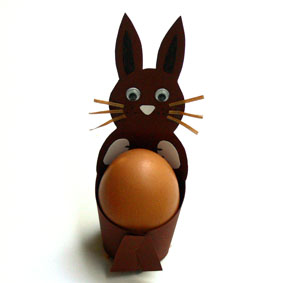 Hasen Eierbecher Zu Ostern Basteln