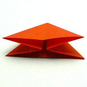 Origami pflanzen falten tulpe - Tulpe falten ...
