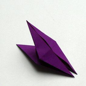 origami vogel grundform my blog. Black Bedroom Furniture Sets. Home Design Ideas