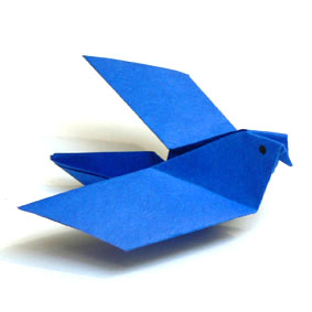 Origami Tiere Falten Taube