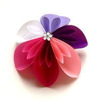 Seerose · Fleurogami Blüte