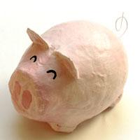 Sparschweinchen Aus Pappmaché Basteln