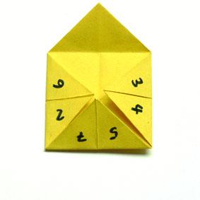 origami gegenst228nde falten himmel und hoelle f252r kinder