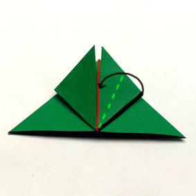 origami tiere falten frosch. Black Bedroom Furniture Sets. Home Design Ideas