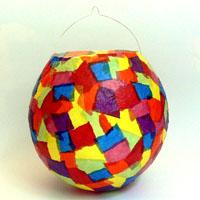 laterne luftballon
