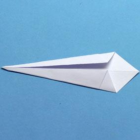 Origami Blume aus Papier falten, Faltanleitung - YouTube | 283x283