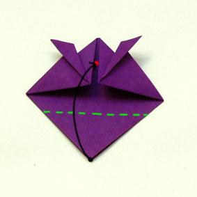 origami tiere falten fisch. Black Bedroom Furniture Sets. Home Design Ideas