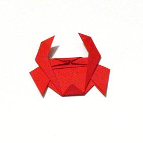 origami tiere falten krebs. Black Bedroom Furniture Sets. Home Design Ideas